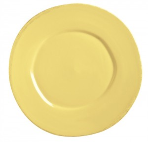 plate from world tableware farmhouse dinnerware collection available from little m tucker in butter yellow  sc 1 st  Little M Tucker & World Tableware Farmhouse Dinnerware | Little M Tucker