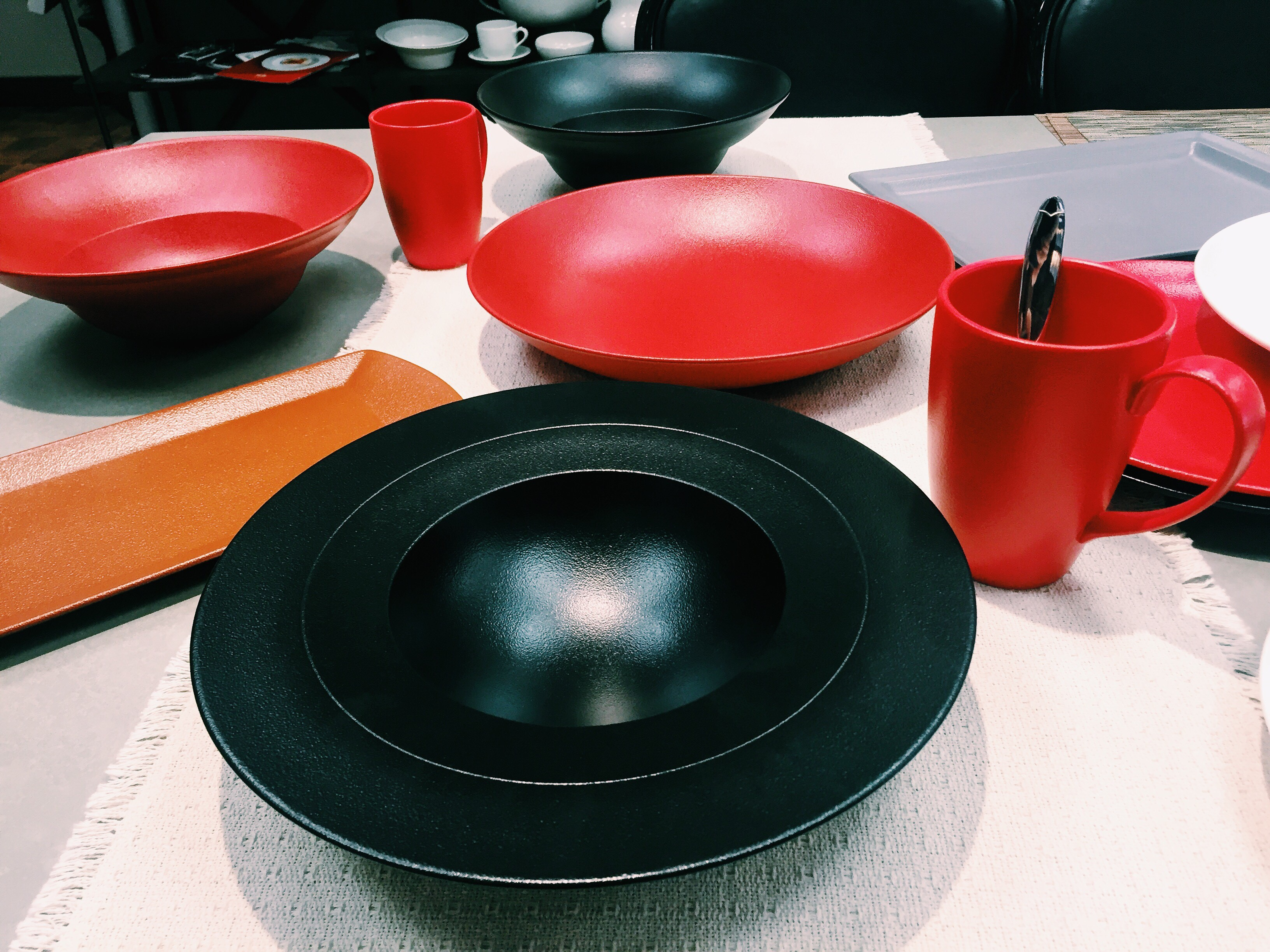 rak neofusion tabletop black & NEOFUSION by RAK Porcelain at Little M Tucker