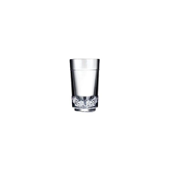 ELITE SHOT GLASS 1.5/2OZ CLEAR TRITAN 24EA/CS