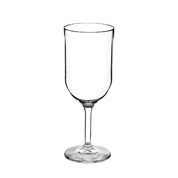 ELITE WINE GLASS 12OZ TRITAN CLEAR 24EA/CS
