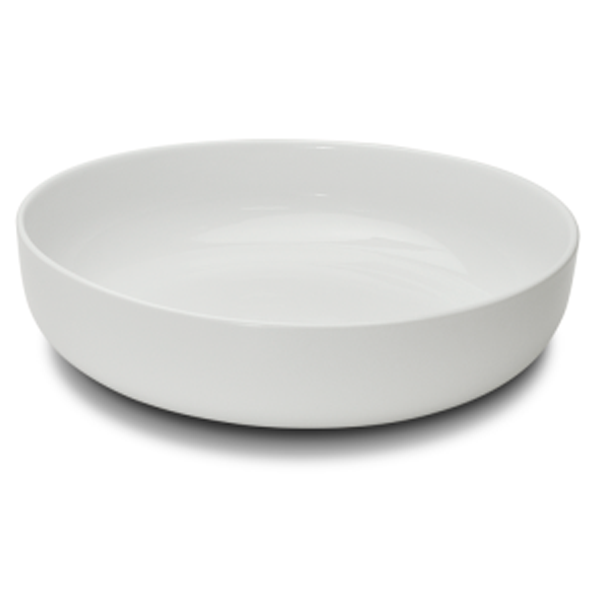 "KLASSIK BOWL HIGH EDGE ROUND WHITE 128.5OZ 12""X3""H 1EA/CS"