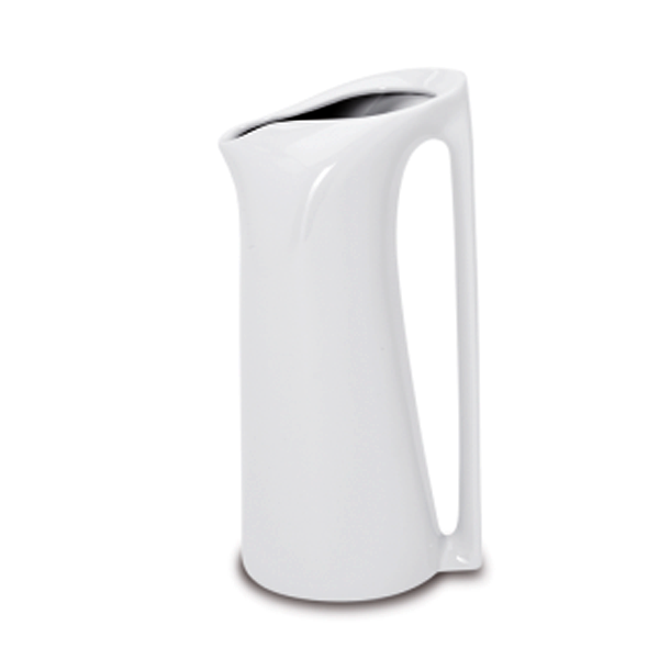 SPIR JUG W/ HANDLE 40.5 OZ WHITE 2EA/CS