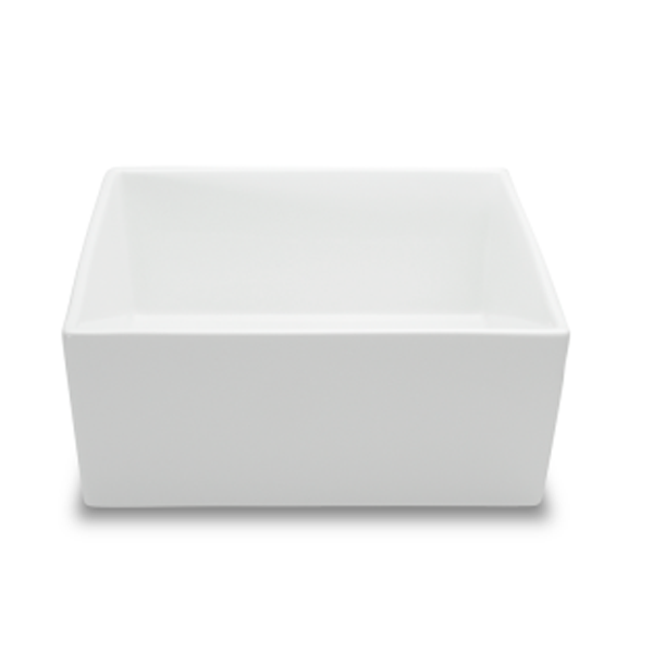 "BOKS BOWL 84.5OZ SQUARE WHITE 8 2/3""X8 2/3""X3 1/2""H 1EA/CS"