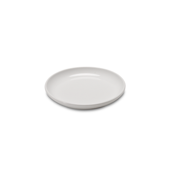 "BASE PLATE 5 3/4"" ROUND WHITE 6EA/CS"