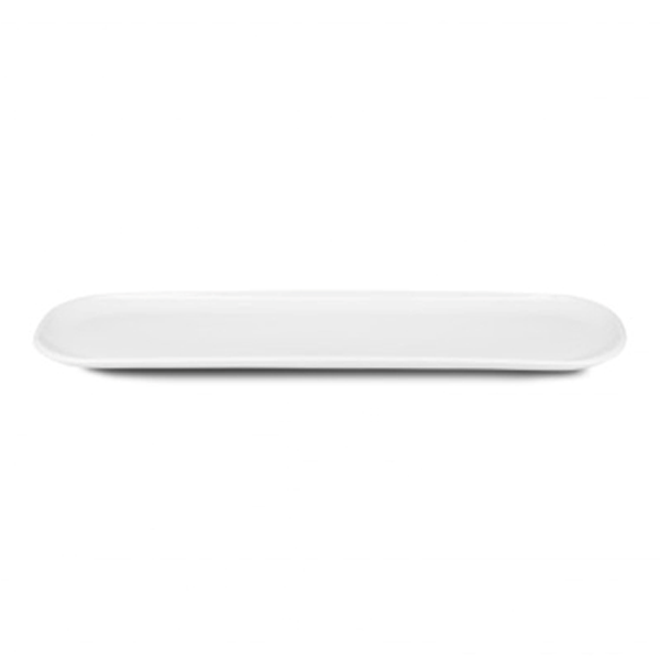 "PAX PLATE 20""X5"" ELONGATED OVAL WHITE 3EA/CS"