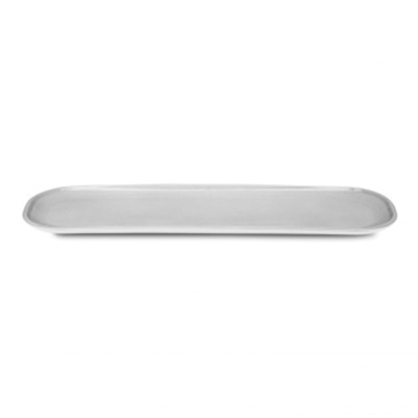 "PAX PLATE 20""X5"" ELONGATED OVAL GREY 3EA/CS"