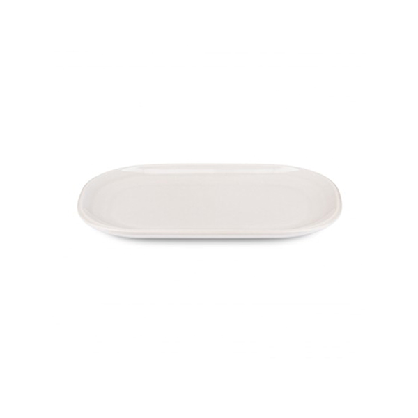 "PAX PLATE 8""X5"" ELONGATED OVAL BEIGE 6EA/CS"