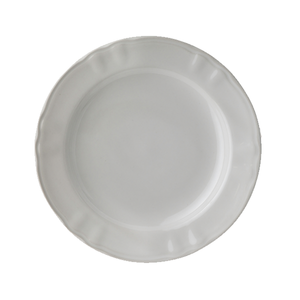 "IMPERIAL PLATE 10-1/4"" DIA WHITE 1DZ/CS"