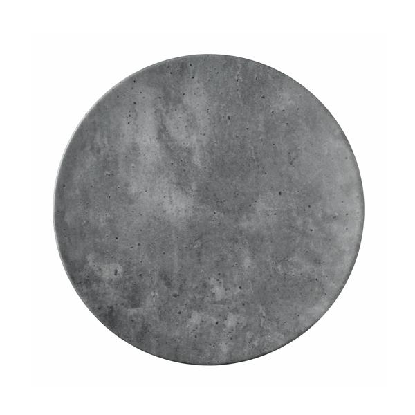 "CONCRETE PLATE 11"" ROUND FLAT COUPE TAFELSTERN 12EA/CS"