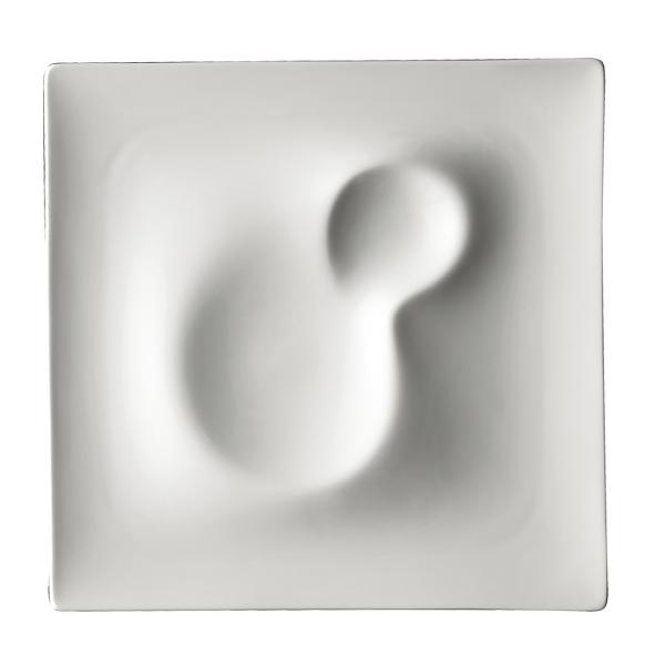 "CD LANDSCAPE PLATE DUNE 10 1/2""X10 1/2"" (706) 6EA/CS"