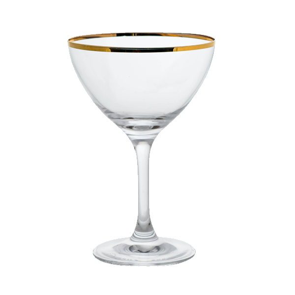 GOLD MINERS MARTINI/COCKTAIL 8OZ 2DZ/CS