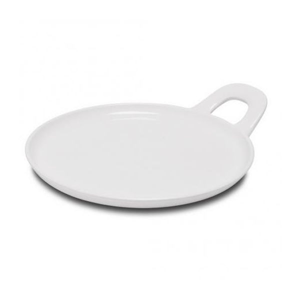 "BASE PLATE W/ HANDLE 10 2/3"" WHITE 6EA/CS"