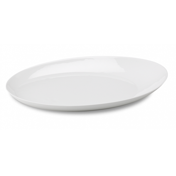 "ELLIPSE TRAY 17.5""X12.3"" WHITE 1EA/CS"