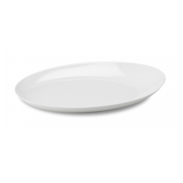 "ELLIPSE TRAY 15.4""X10.6"" WHITE 3EA/CS"