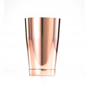 SHAKER BARFLY 18 OZ S/S COPPER PLATED EXTERIOR