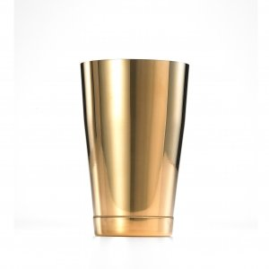 SHAKER BARFLY 18 OZ S/S GOLD PLATED EXTERIOR
