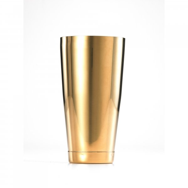 SHAKER BARFLY 28 OZ S/S GOLD PLATED EXTERIOR