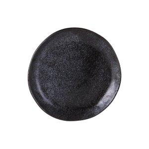 """EARTH BLACK SHARE PLATE 8.5"""" 12EA/CS"""