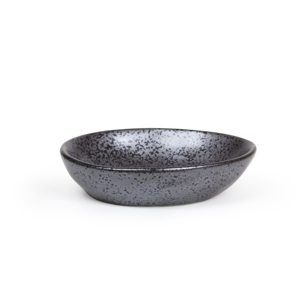 EARTH BLACK SMALL DISH 2.5 OZ 12EA/CS