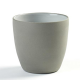 "DUSK COFFEE CUP 7.75OZ 3.13""X 3"" SERAX GREY/WHITE 6EA/CS"