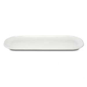"PAX PLATE OVAL 12""X5"" WHITE 6EA/CS"