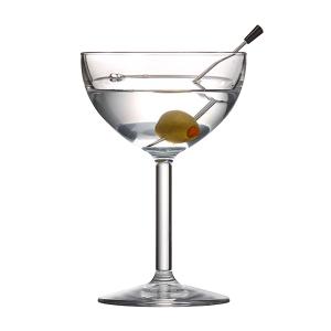 COUPE GLASS 8 OZ TRITAN DRINIQUE 24EA/CS