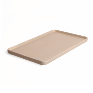 "LARGE TRAY 12"" TAUPE"