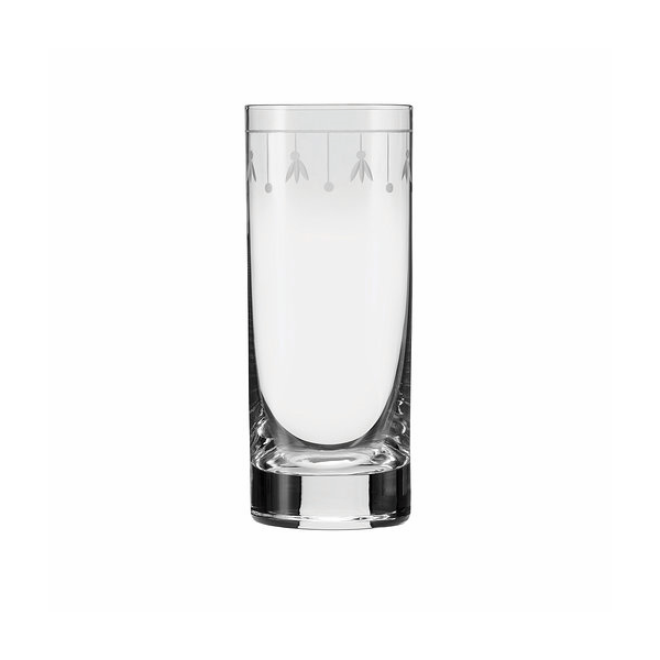 FLEUR-DE-LIS LONG DRINK GLASS 14.25 OZ 2DZ/CS