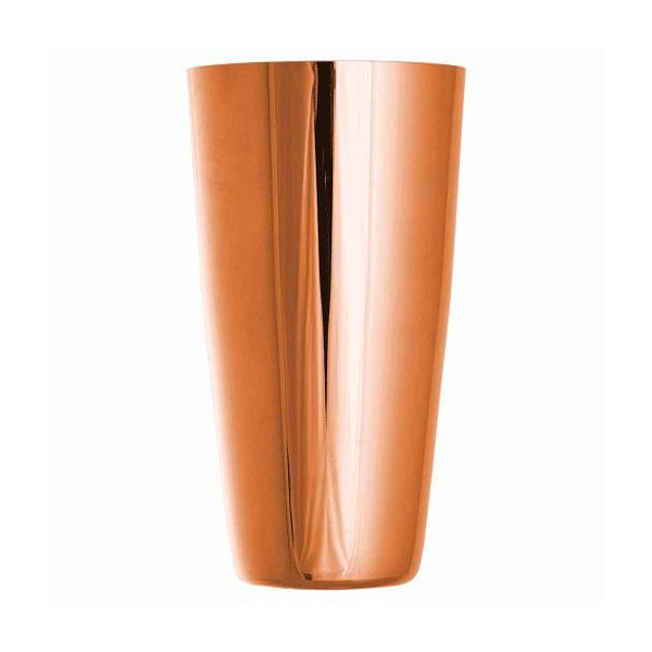 BOSTON SHAKER TIN 28 3/4 OZ 18/8 S/S COPPER PLATED FINISH