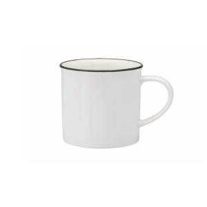 TINTIN COFFEE MUG 11OZ HANDLED BRITISH GREEN 3DZ/CS