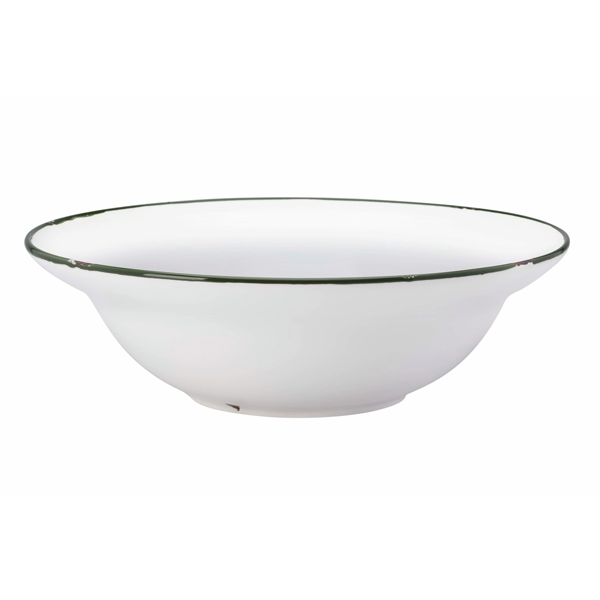 "TINTIN PASTA BOWL 9 1/2"" 25 OZ BRITISH GREEN 1DZ/CS"