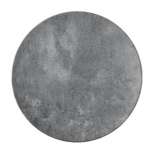 """Concrete Bread Plate, 6"""" diameter"""