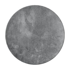 "Concrete Dinner Plate, 9-1/10"" diameter"