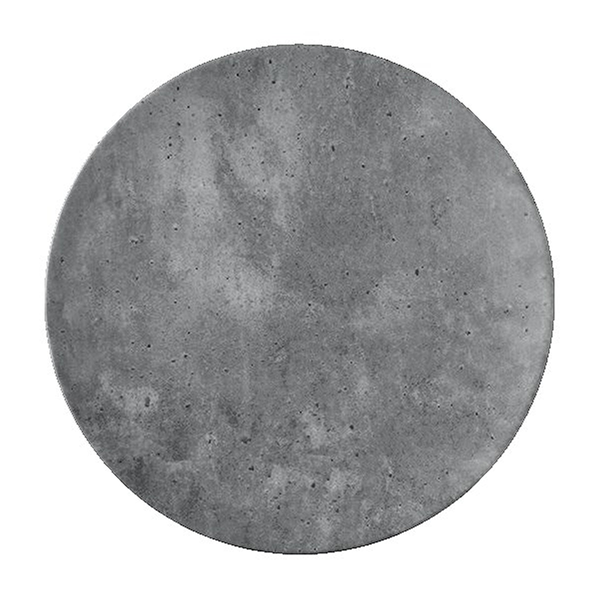 "Concrete Dinner Plate, 11"" diameter"