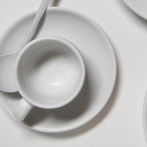 Chena White Espresso Cup, 3 ounce capacity